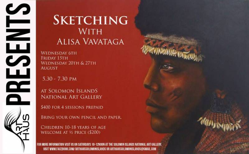 SKETCHING WORKSHOP WITH ALISA [...]
