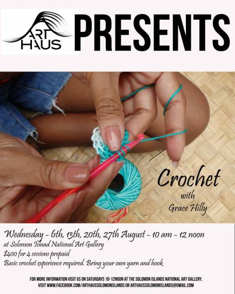 CROCHET WORKSHOP WITH GRACE HILLY