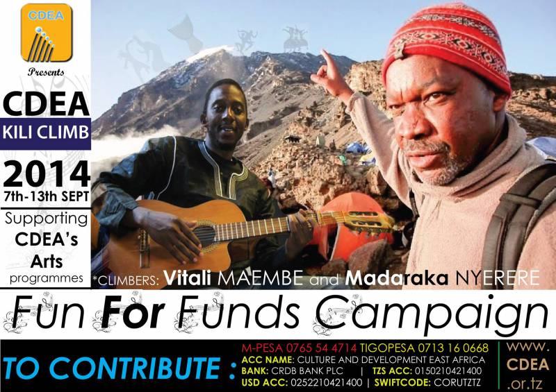 Kilimanjaro climb for Culture and [...]