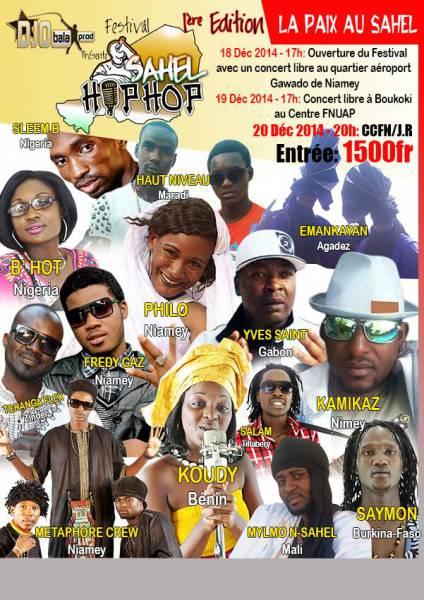 Communiqué de festival: Sahel HIP [...]