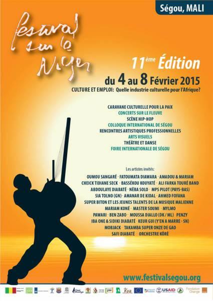 FESTIVAL SUR LE NIGER 2015