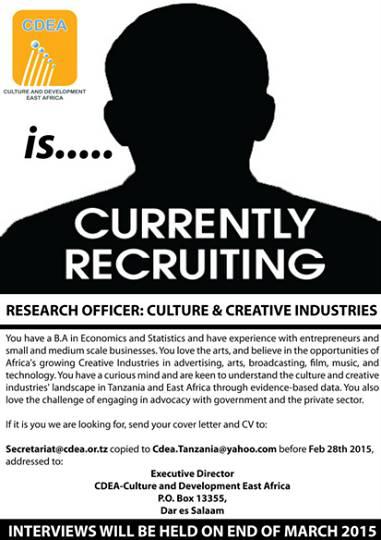 Job Vacancy - Culture and [...]