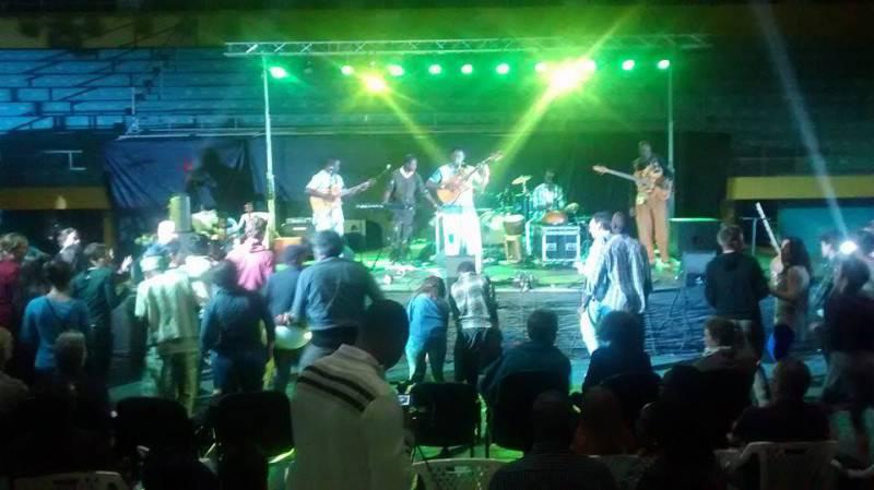Malian music star Habib Koite at Isaano artsFestival