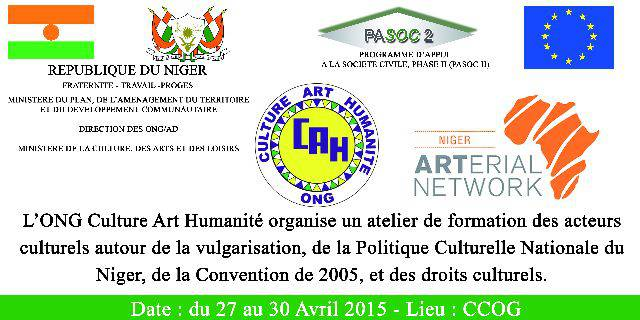 L'ONG Culture Art Humanité [...]