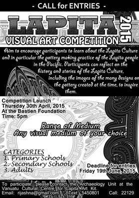 Lapita visual art competition