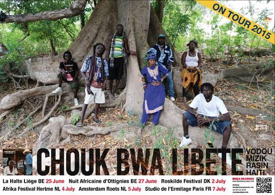 Soutien à la tournée de Chouk Bwa Libète