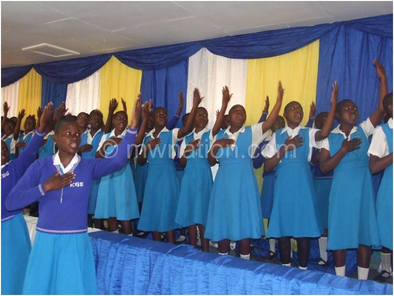 Katete Girls Primary launches DVD