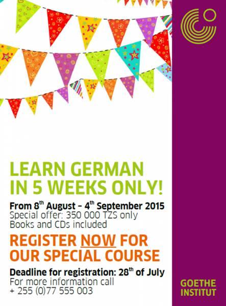 Learn German in 5 Weeks Only!