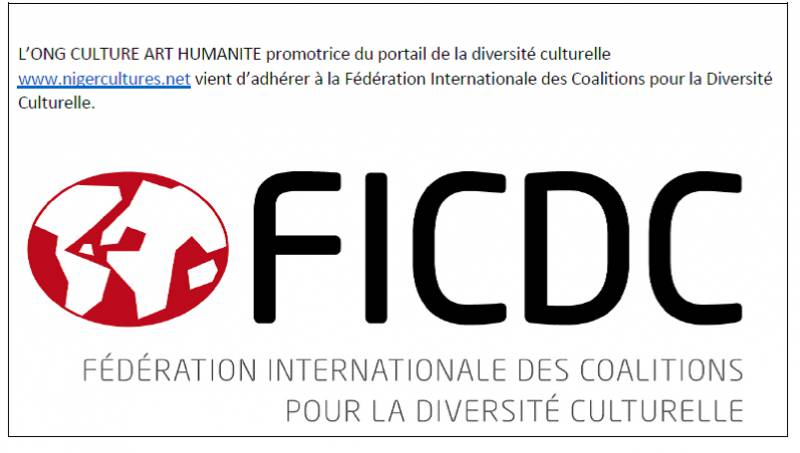 ONG Culture Art Humanité est membre de la FICDC