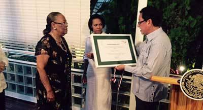 Le Prix Othli attribué à l'historienne Suzy Castor
