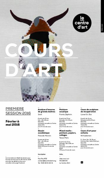 COURS D'ART  PREMIERE SESSION [...]