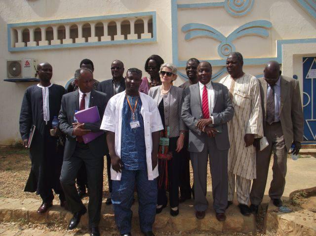 Visite de la Directrice Générale de l'UNESCO au Musée [...]