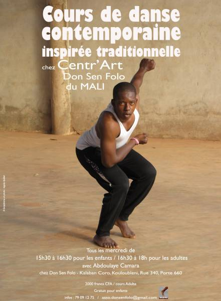 Cours de danse contemporaine [...]