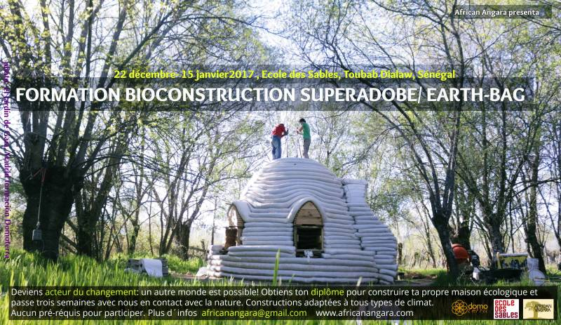 Formation en bio-construction au [...]