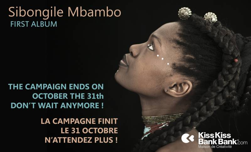 Contribute to Sibongile Mbambo's first album