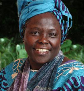 La lauréate du prix Nobel de la paix, Wangari Maathai, [...]