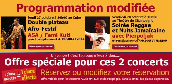 24ème Festival Nuits de Champagne 2011 : Changement de [...]