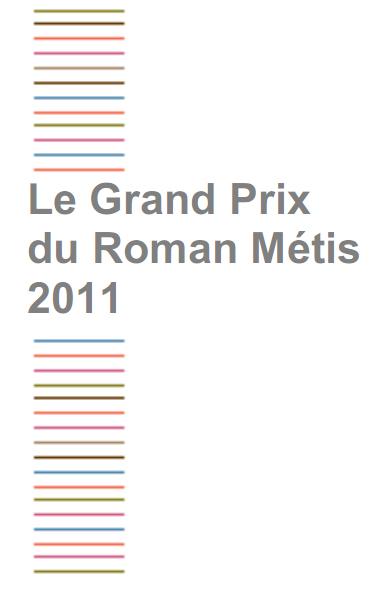 Sélection du Grand Prix du Roman Métis 2011