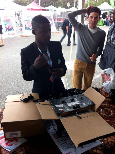 Un petit génie du Sierra Leone [...]