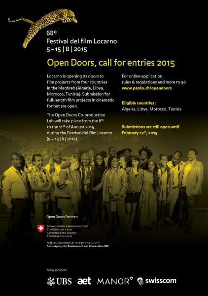 Call for Entries 2015 - Open Doors - Festival del film [...]