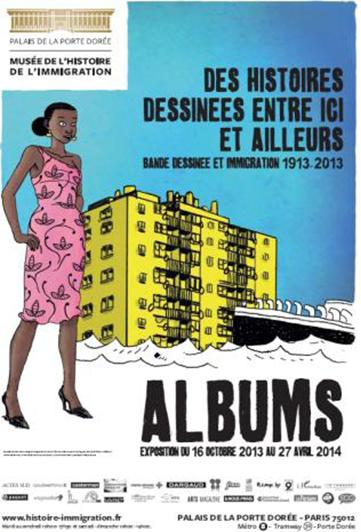 Succès pour l'exposition ALBUMS, bande dessinée et [...]