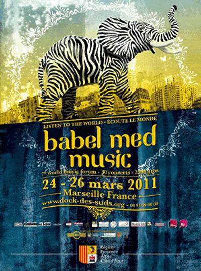 Babel Med 2011 au Dock des Suds de Marseille