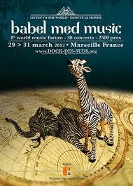 L'afrique à l'honneur au Babel Med Music 2012