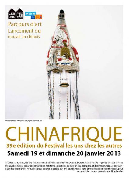 CHINAFRIQUE un parcours d'art contemporain à Belleville [...]