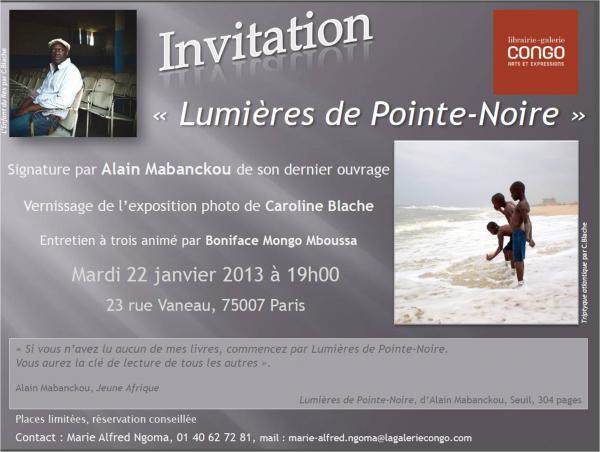 Alain Mabanckou dédicacera son dernier ouvrage à [...]