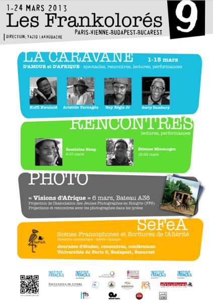 Lancement de la Caravane des Frankolorés / 9e édition