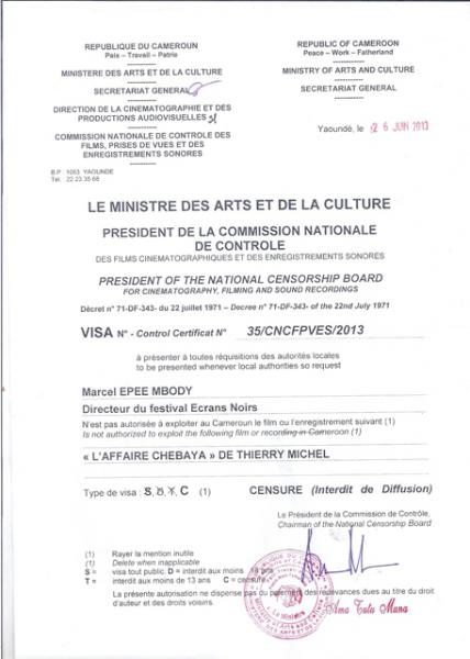 Cameroun : le film L'Affaire [...]