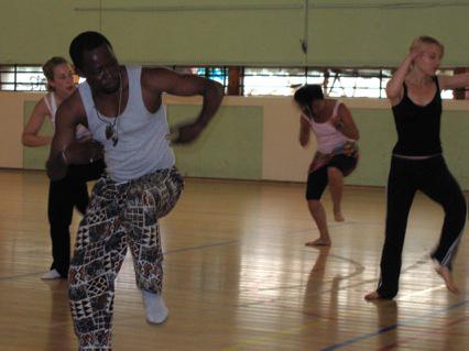 Cours de danse africaine avec Dié Loussakoumounou à [...]