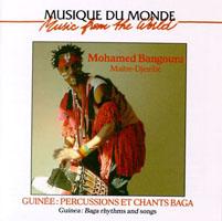Guinée : Percussions et chants Baga